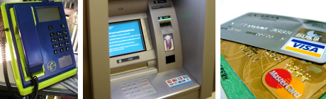 seguridad cotidiana: cajeros automaticos, tarjeta de credito, telefono publico