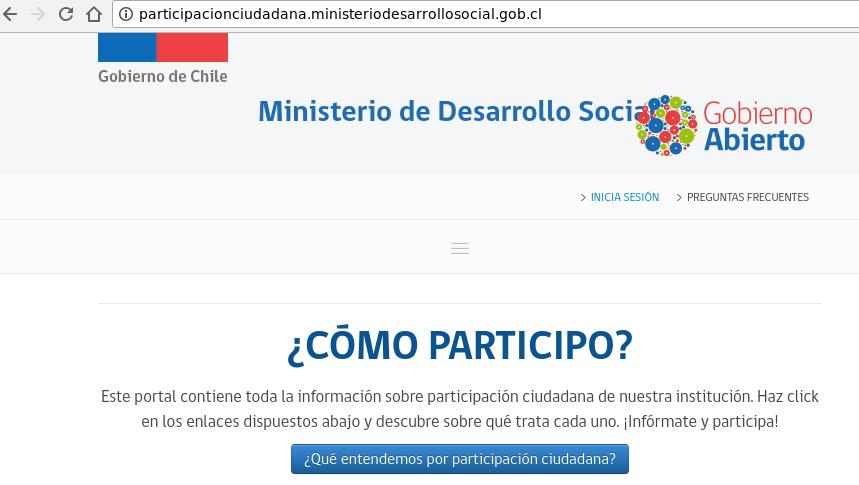 Sitios web del gobierno de chile intervenidos por terceros for Que hace el ministerio del interior
